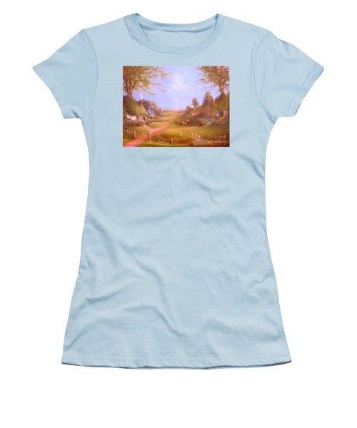 Run Bilbo Late For An Appointment Women's T-Shirt (Junior Cut) by Joe  Gilronan