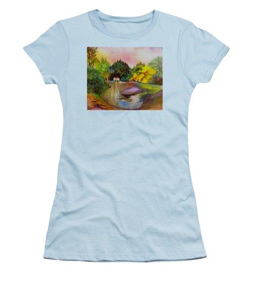 Russian River Dream Women's T-Shirt (Athletic Fit)