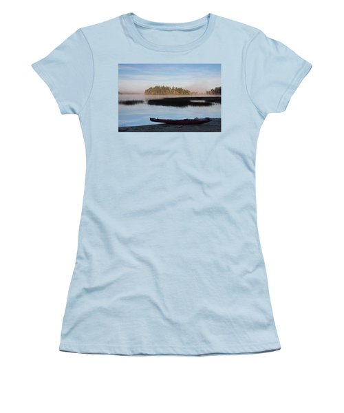 Sabao Morning Women's T-Shirt (Athletic Fit)