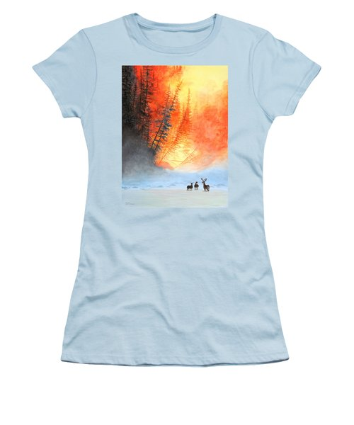 Safe Haven Women's T-Shirt (Athletic Fit)