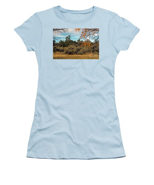 Sagebrush And Lava Women's T-Shirt (Athletic Fit)