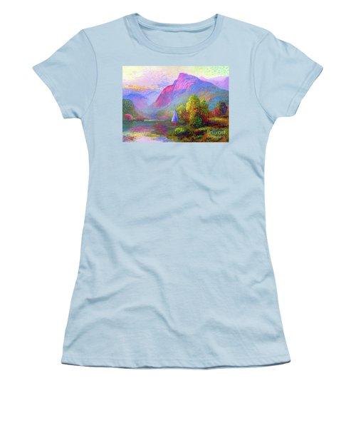 Sailing Into A Quiet Haven Women's T-Shirt (Athletic Fit)