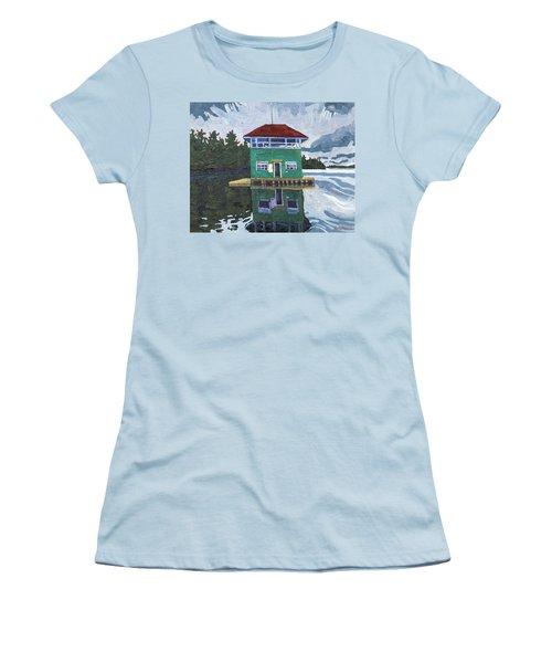 Sailors Club House Women's T-Shirt (Athletic Fit)