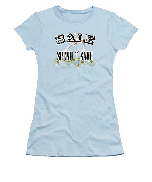 Sale Women's T-Shirt (Junior Cut) by Phyllis Denton