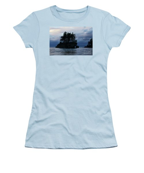 Women's T-Shirt (Junior Cut) featuring the photograph Salt Creek At Sunset by Jane Eleanor Nicholas