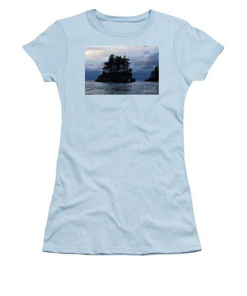 Salt Creek At Sunset Women's T-Shirt (Athletic Fit)