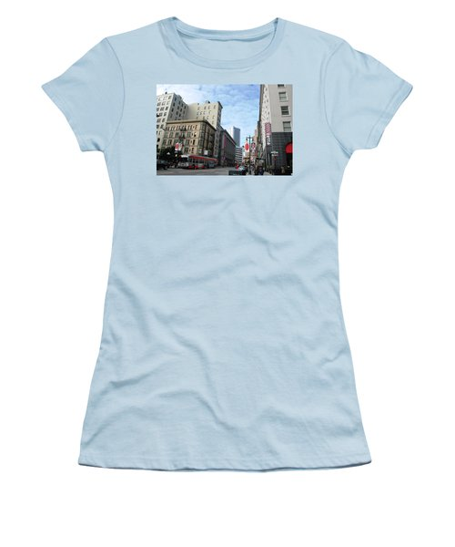 San Francisco - Jessie Street View Women's T-Shirt (Junior Cut) by Matt Harang