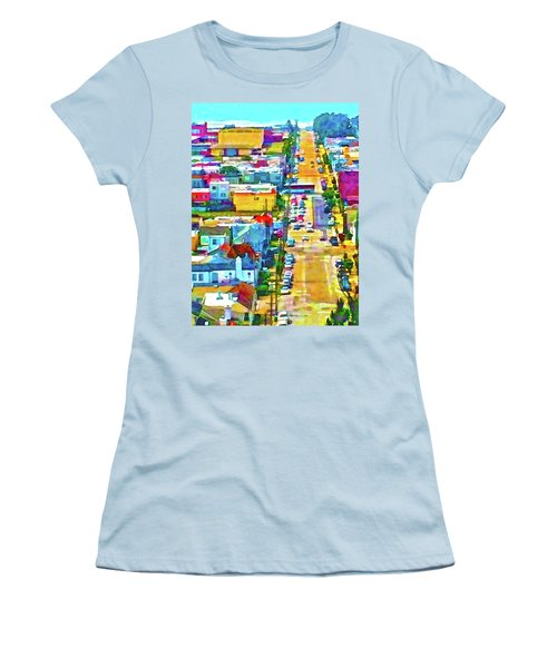 San Francisco Quintara View Women's T-Shirt (Athletic Fit)