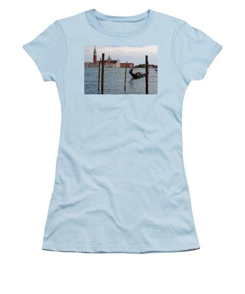 San Giorgio Maggiore Gondola Women's T-Shirt (Athletic Fit)