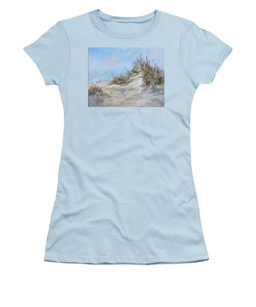 Sand Dunes And Salty Air Women's T-Shirt (Junior Cut) by Barbara O'Toole