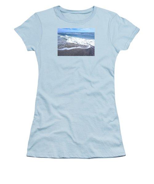 Sand, Sea, Sun No. 1 Women's T-Shirt (Junior Cut) by Ginny Schmidt