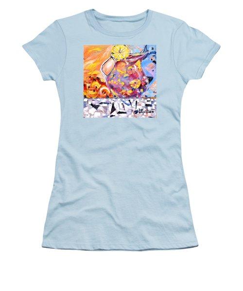 Sangria  Women's T-Shirt (Junior Cut) by Evelina Popilian