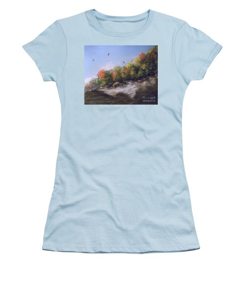 Soaring Over The North Rim, Autumn Women's T-Shirt (Athletic Fit)