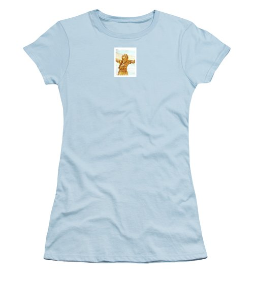 Sarah On The Beach Women's T-Shirt (Athletic Fit)