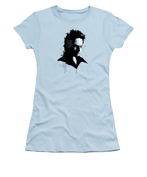 Say Hello To Heaven  Women's T-Shirt (Athletic Fit)