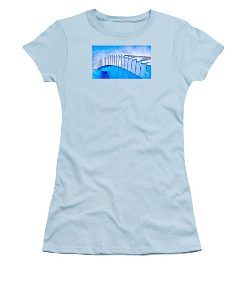 Scaped Glamour Women's T-Shirt (Junior Cut) by Catherine Lott