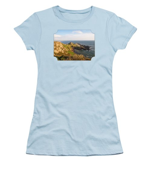 Scenic Coastline At Corbiere Women's T-Shirt (Athletic Fit)