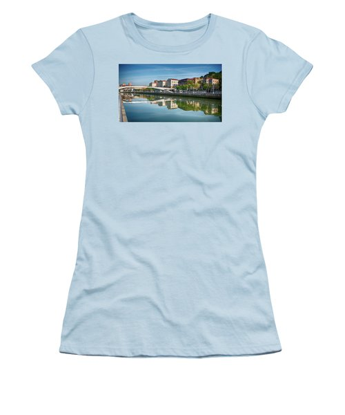 Scenic River View Women's T-Shirt (Junior Cut) by James Hammond