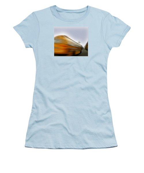 School Bus Women's T-Shirt (Athletic Fit)