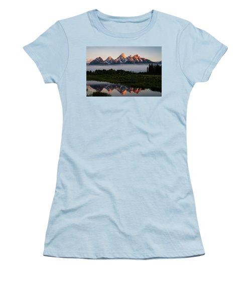 Schwabacher Landing Sunrise Women's T-Shirt (Athletic Fit)