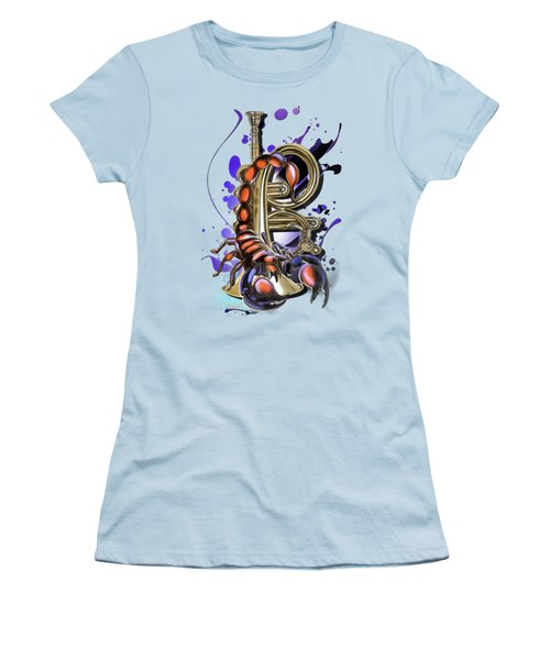 Scorpio Women's T-Shirt (Athletic Fit)