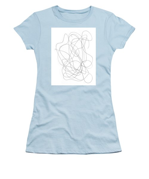 Scribble For Grin And Bear It Women's T-Shirt (Junior Cut) by Ismael Cavazos