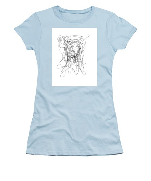 Scribble For Gusts, Dust, The Sun... Women's T-Shirt (Junior Cut) by Ismael Cavazos