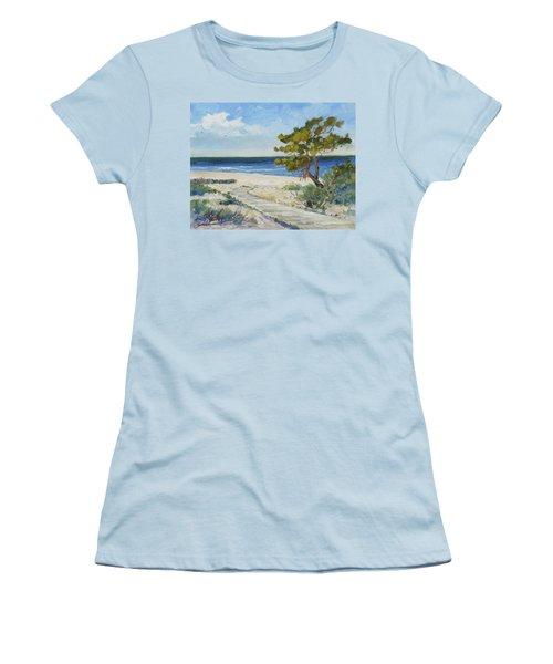 Sea Beach 6 - Baltic Women's T-Shirt (Athletic Fit)