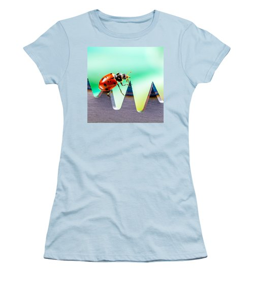 Women's T-Shirt (Junior Cut) featuring the photograph Sea Of Pain by TC Morgan