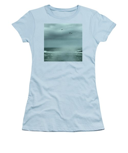 Sea Spray Women's T-Shirt (Athletic Fit)