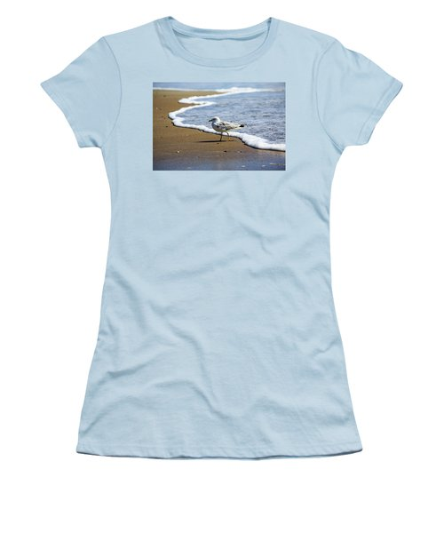 Women's T-Shirt (Athletic Fit) featuring the photograph Seagull by David Chandler