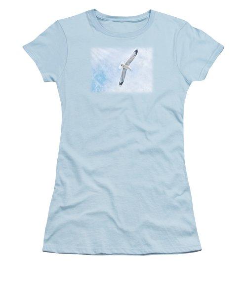 Seagull Soar Women's T-Shirt (Junior Cut)