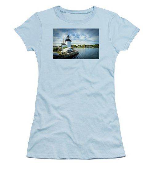 Sentinels Of The Sea Lighthouse Women's T-Shirt (Junior Cut)