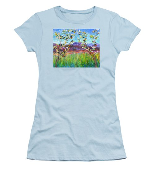 Sentries Diptych Women's T-Shirt (Athletic Fit)