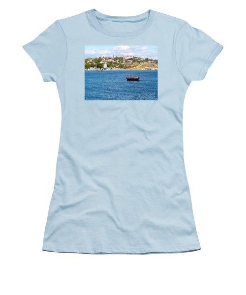 Sevastapol. Ukraine Women's T-Shirt (Junior Cut) by Phyllis Kaltenbach