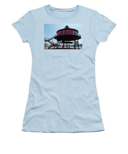 Seven-foot Knoll Lighthouse Women's T-Shirt (Athletic Fit)