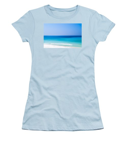 Shades Of Blue Women's T-Shirt (Junior Cut) by Shelby  Young