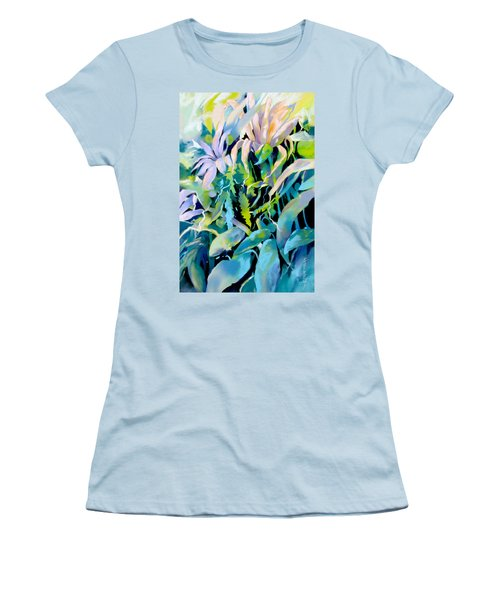 Shadowed Delight Women's T-Shirt (Junior Cut) by Rae Andrews