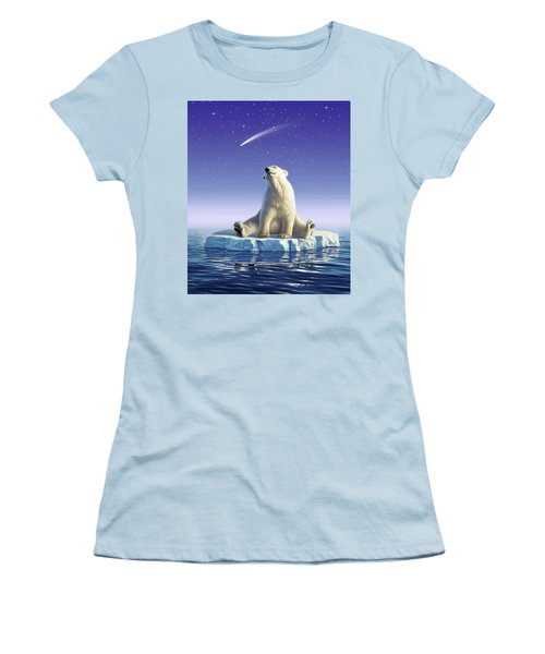 Shooting Star Women's T-Shirt (Athletic Fit)