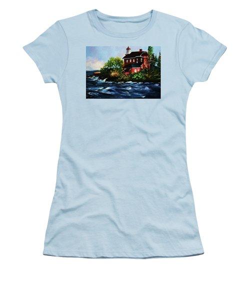 Shoreline Light Women's T-Shirt (Athletic Fit)