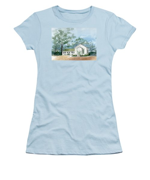 Sicklerville 1859 Church  Women's T-Shirt (Athletic Fit)