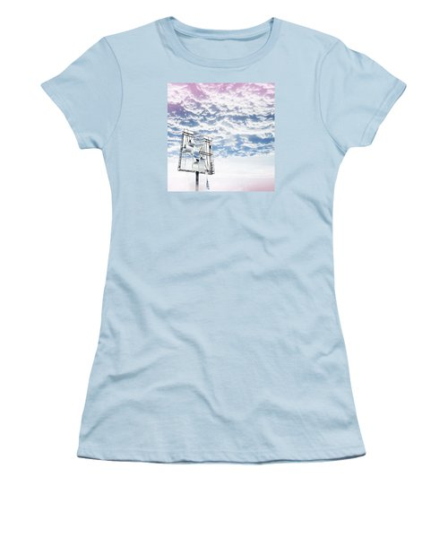 Sign In The Sky Women's T-Shirt (Athletic Fit)