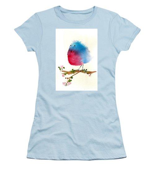 Silly Bird #1 Women's T-Shirt (Junior Cut) by Anne Duke