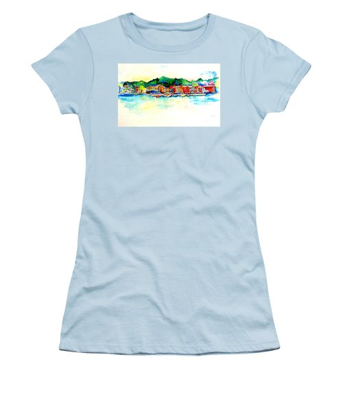 Skaneatelels Ny Women's T-Shirt (Athletic Fit)