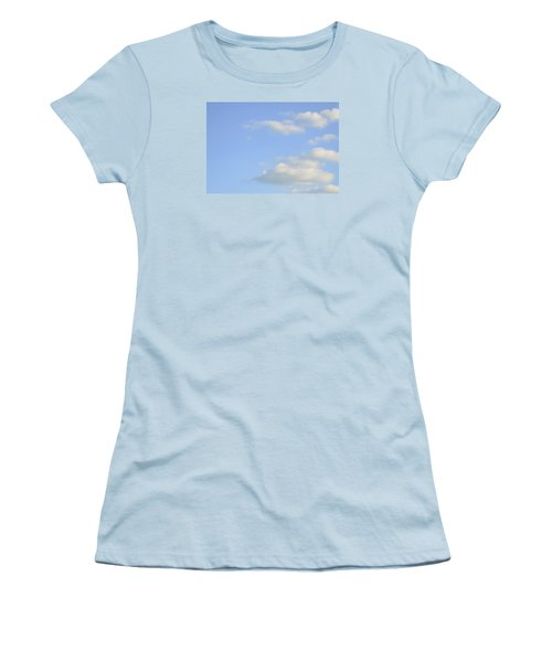Women's T-Shirt (Athletic Fit) featuring the photograph Sky by Wanda Krack
