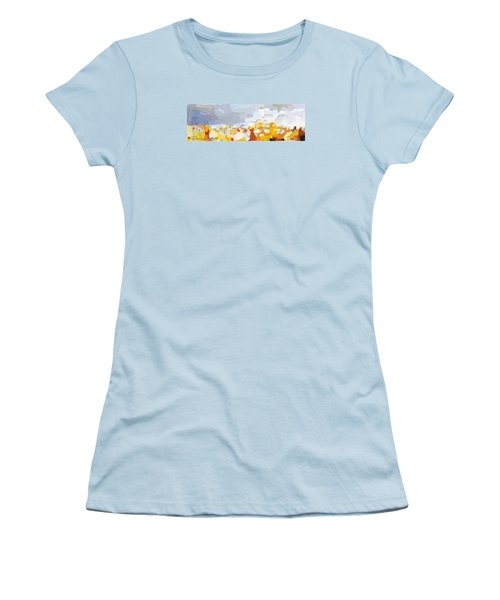Skyline Cambridge, Uk Women's T-Shirt (Athletic Fit)