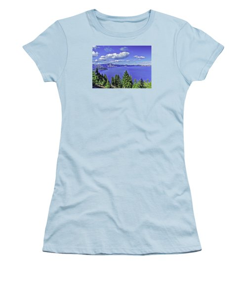 Women's T-Shirt (Junior Cut) featuring the photograph Sleeping Wizard by Nancy Marie Ricketts