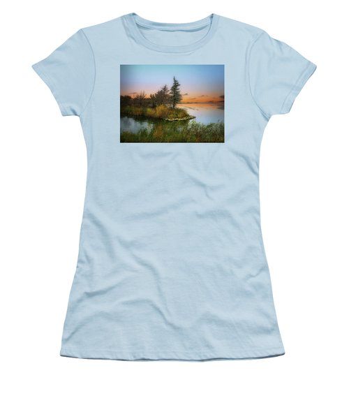 Small Island Women's T-Shirt (Athletic Fit)