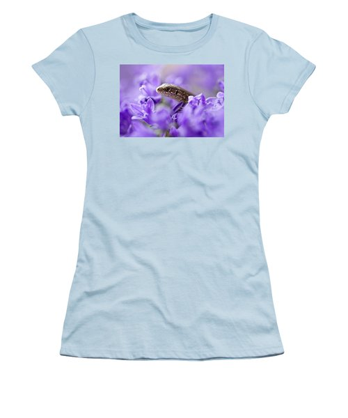 Small Lizard Women's T-Shirt (Athletic Fit)