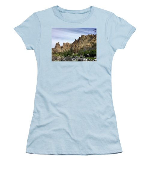 Smith Rocks Women's T-Shirt (Athletic Fit)